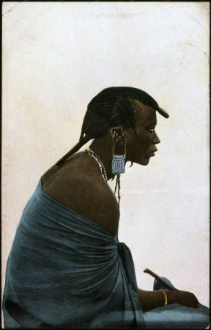 Masai warrior, Tanzania, ca. 1900-1914 :: International Mission Photography Archive, ca.1860-ca.1960