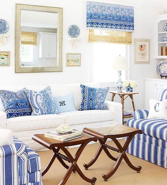 Best Cobalt Blue Living Rooms And The Pillow On Pinterest 400 x 300