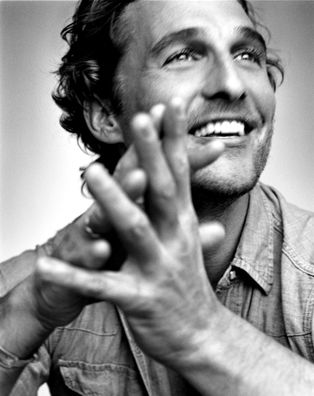 Matthew McConaughey.. Yes he's old enough to be my father (just) and Yes i do not care lol