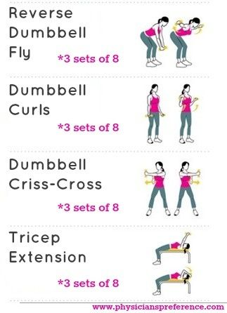 bingo wings exercises at home