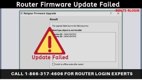 Netgear Router Firmware Update Failed Fix Netgear Router
