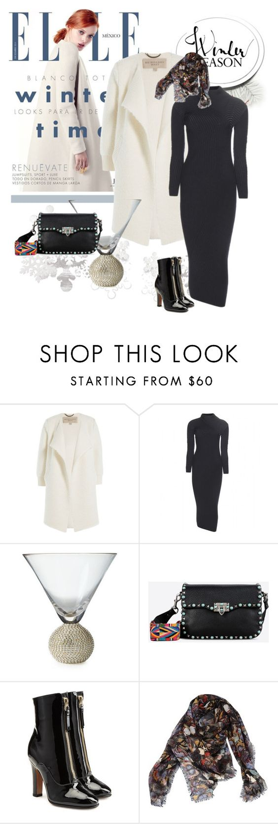 """December 12"" by anny951 ❤ liked on Polyvore featuring Delpozo, Burberry, Acne Studios and Valentino"