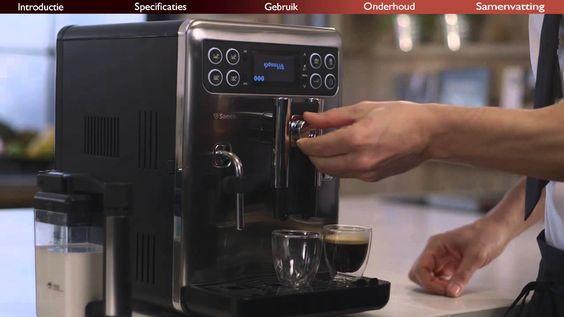 Benvenuto. Bekijk nu de product review van onze Saeco Exprelia.