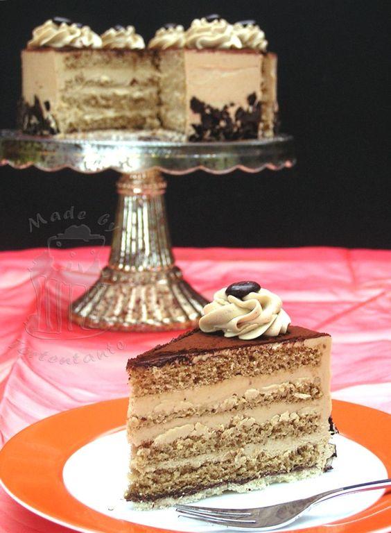 mokka buttercreme torte kuchen torten pinterest fondant and torte. Black Bedroom Furniture Sets. Home Design Ideas