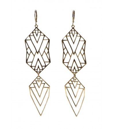 Zoe & Morgan earrings
