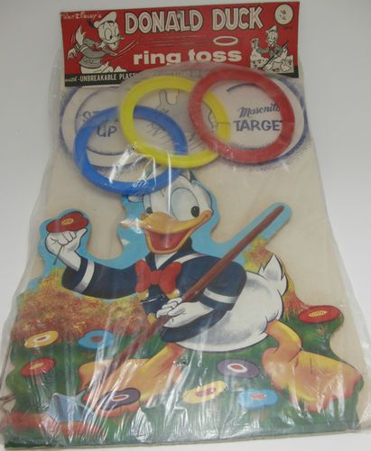 VINTAGE DONALD DUCK RING TOSS GAME