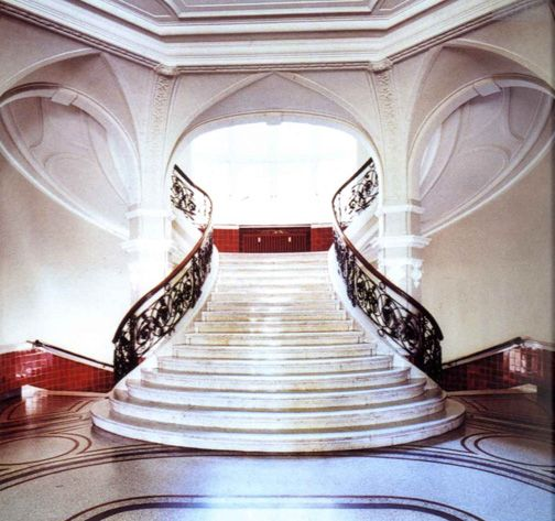 Entry stairs, Big houses and Stairs on Pinterest