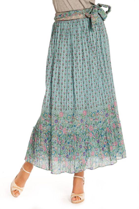 Odonate Skirt blue