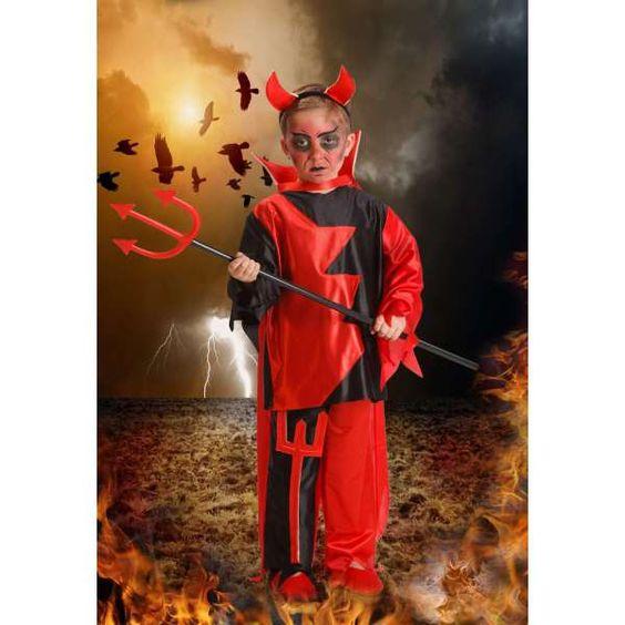 DisfracesMimo, disfraz de demonio para niño 1 a 2 años.es muy cómodo para