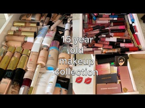 Huge Makeup Collection Of A 15 Year Old Youtube 2020