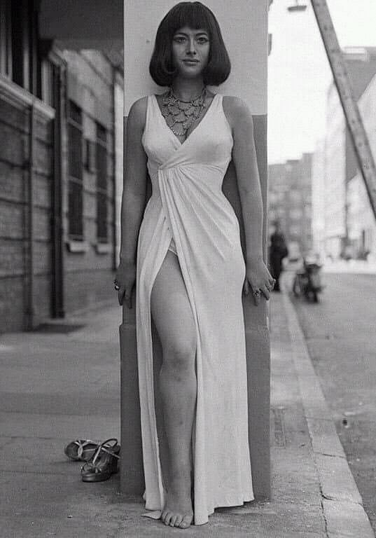 Helen Mirren As Cleopatra In A Theatrical Production 1965