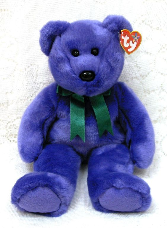 Take a look at the 15 most valuable beanie Bears in the World on the Financial Times