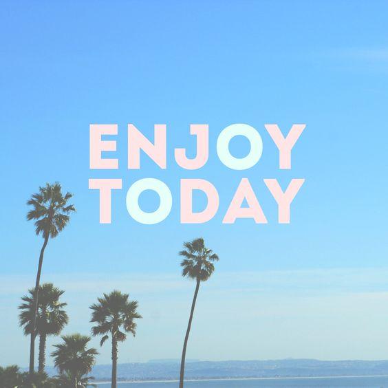 Enjoy today.  @U Lala U-la-la.com