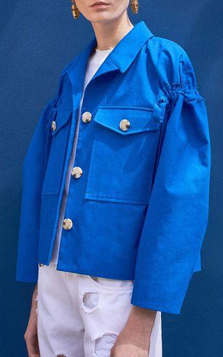 The Daphne Sleeve Detail Jacket by REJINA PYO for Preorder on Moda Operandi