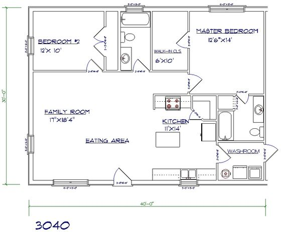 Layout for in law quarters above garage 1200 sq ft get for House plans with inlaw quarters