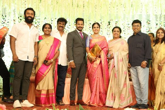 Chandini – Nanda Wedding Reception Photos