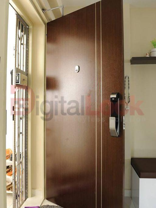 Hdb Fire Rated Main Door Factory Selling Keywe Epic And Samung Digital Lock For Veneer And Laminate Hdb Door Hdb Bedroom Door Toilet Door And Gate At Lowes Main