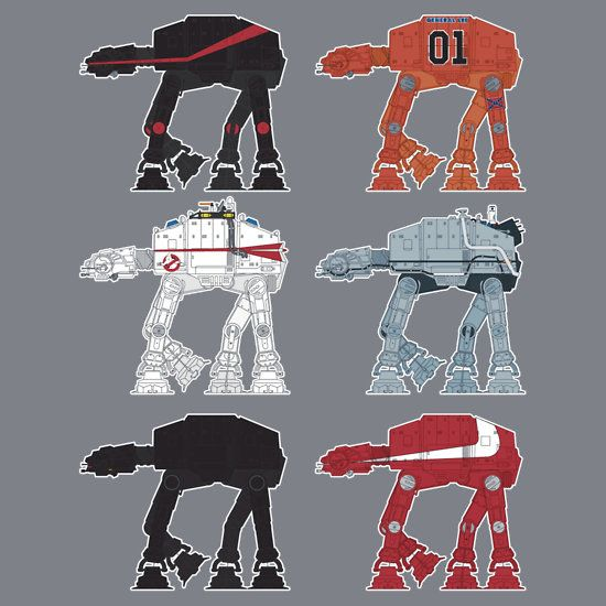 Cult Movie & TV Classic AT-ATs by SevenHundred: