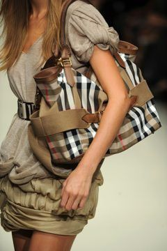 the Burberry tote