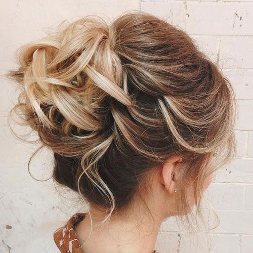 59 Cute Easy Updos For Short Hair That Look Stunning 2019 Styles Thin Hair Updo Thin Hair Haircuts Short Hair Styles Easy