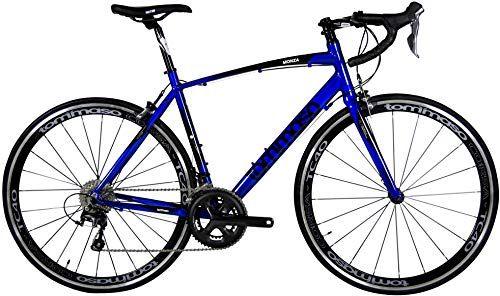 Amazing Offer On Tommaso Monza Endurance Aluminum Road Bike Carbon Fork Shimano Tiagra 20 Speeds Aero Wheels Matte Black Blue Online Trendyclothingonlin Road Bike Bike Riding Benefits Cool Bicycles
