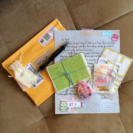Penpal PL Album and Incoming Mail for W/E 11-10-13
