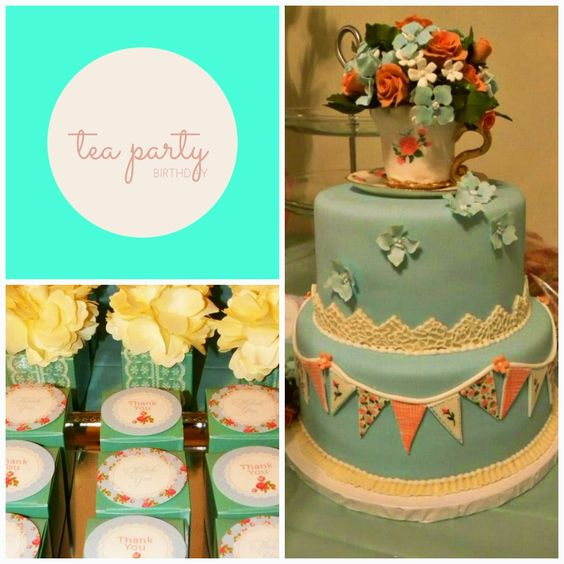 The Grace-Filled Home: Tea Party Birthday