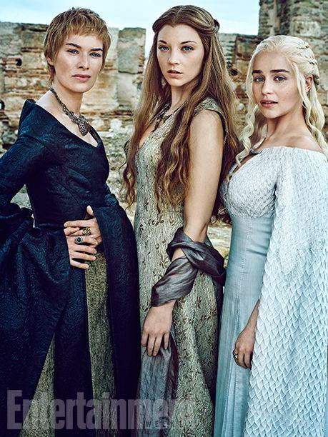 'Game of Thrones' Exclusive EW Portraits: Queens of the Throne Age | Lena Headey, Natalie Dormer, and Emilia Clarke | EW.com