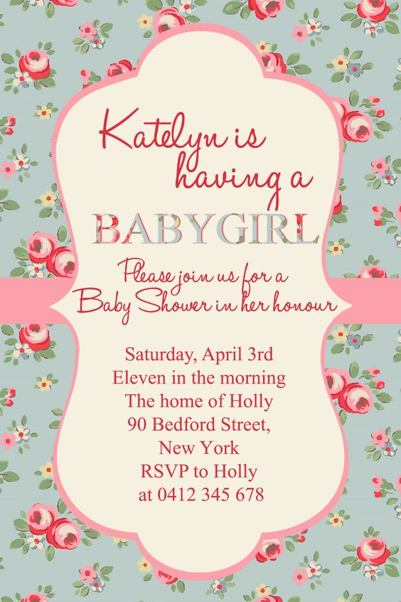girl baby shower fonts used halo hand letter times new roman