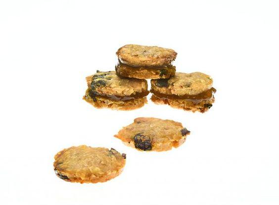 Questi biscotti di patate dolci, arachidi e quinoa non hanno nulla da invidiare…