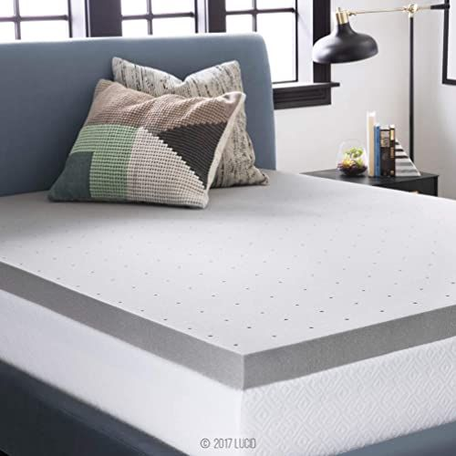 Amazing Offer On Lucid 3 Inch Bamboo Charcoal Memory Foam Mattress Topper Queen Online Prettyclothingstyle In 2020 Mattress Topper Memory Foam Mattress Topper Memory Foam Topper