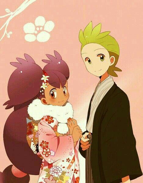 Iris. Cilan. Pokemon Best Wishes / BW. #anime | ️ Pokémon ...