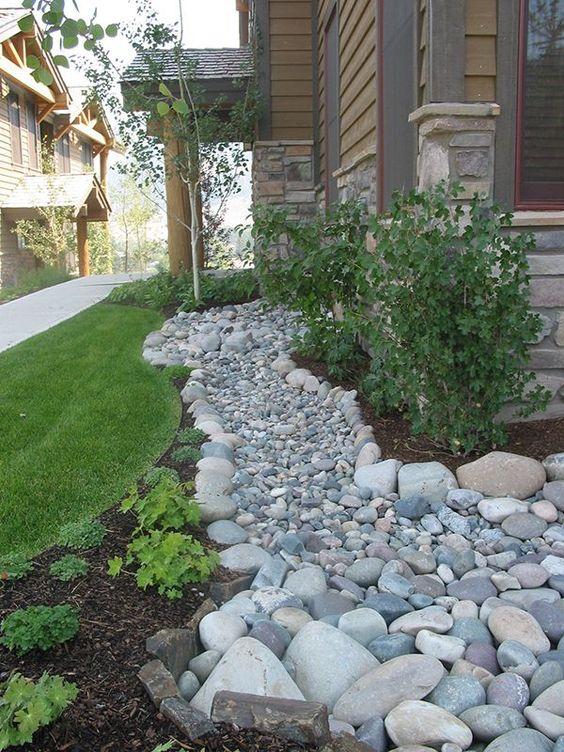 Landscaping With River Rock Dry River Rock Garden Ideas River - Lets rock 20 fabulous rock garden design ideas