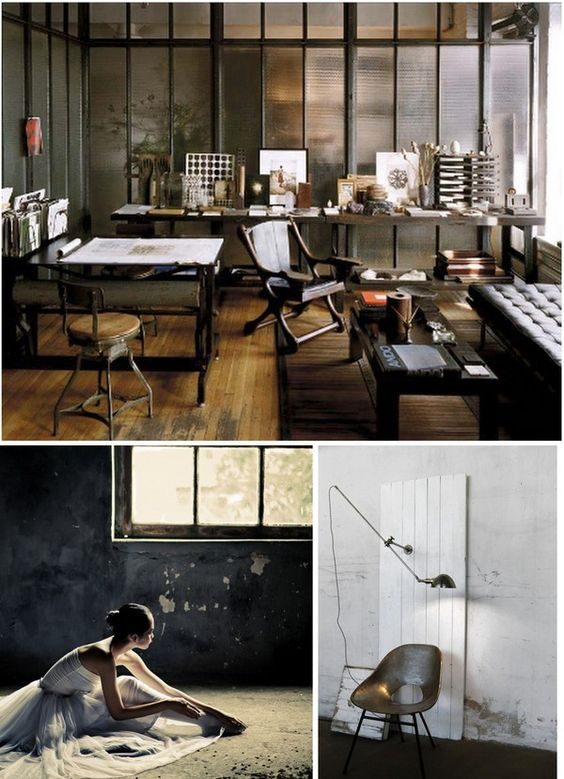 Industrial Vintage home Inspiration from JoyForHome -