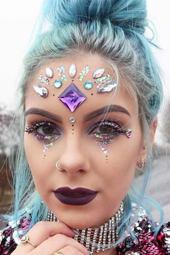 36 Fairy Unicorn Makeup Ideas For Parties Unicorn Makeup for Parties picture2 See more:… - http://makeupaccesory.com/36-fairy-unicorn-makeup-ideas-for-parties-unicorn-makeup-for-parties-picture2-see-more/