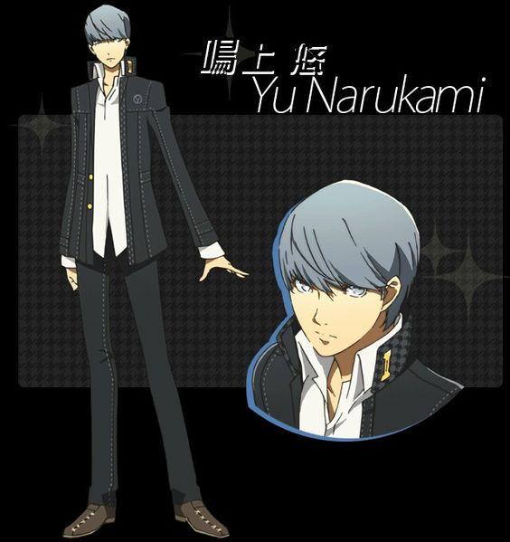 Yu Narukami/Protagonist Persona 4 <3<3
