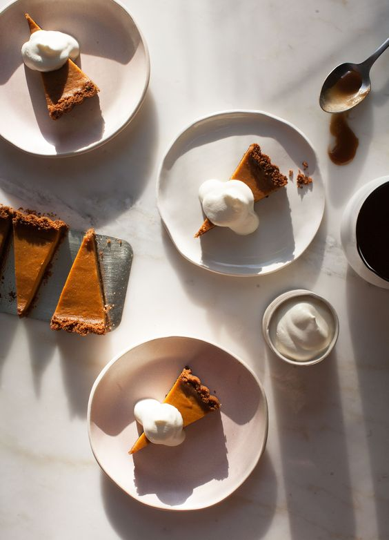 Butterscotch Pumpkin Pie /