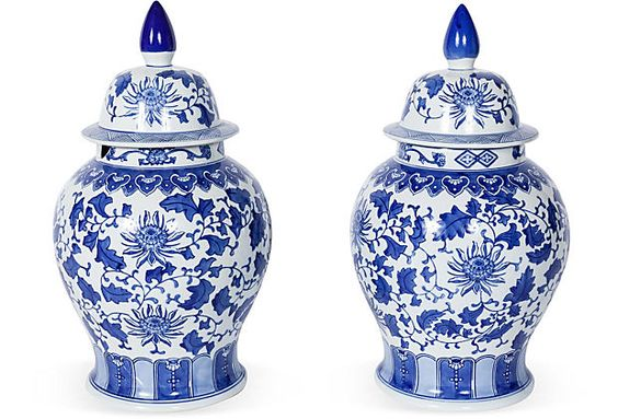 Lidded Vases, Set of 2 on OneKingsLane.com