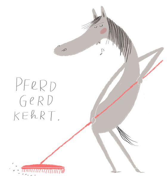 Pferd Gerd kehrt | hallo heute
