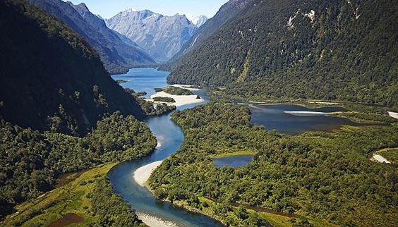 The Milford Track - 4 days of light hiking in the South Island of New Zealand, ending at Milford Sound. Excellent trek!