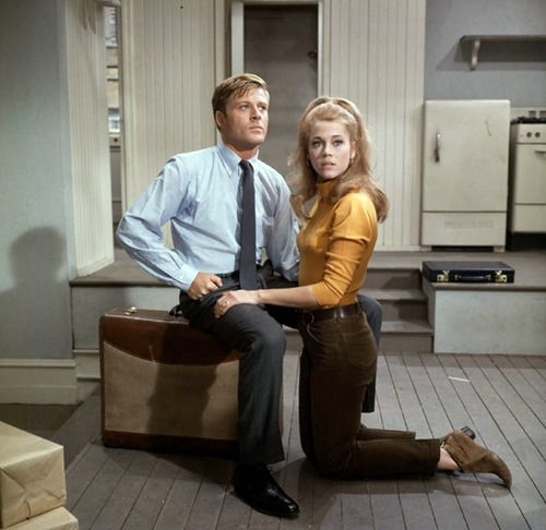 "Corie Bratter and Paul Bratter from ""Barefoot in the Park"".:"