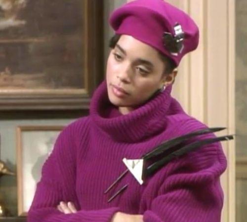 Denise Huxtable always fashionable