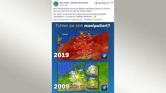 Men manipuleert de temperaturen....Foute metingen etc.