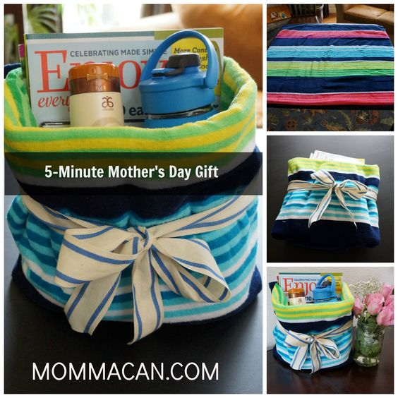 A simple step by step guide using pictures to teach how to make this awesome Mother's Day Beach Towel Gift Set. Supplies: Beach Towel Ribbon Scissors Magazines Waterbottle or Wine :) Suntan L…