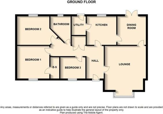 2 Bedroom Bungalow Floor Plans Uk Google Search Bungalow Floor Plans House Plans House Floor Plans