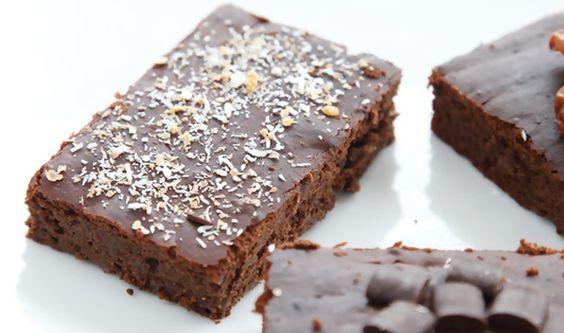 Brownies light... Uma versão alternativa à tradicional igualmente deliciosa mas muito mais saudável