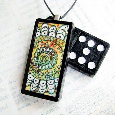 DIY domino jewelry!
