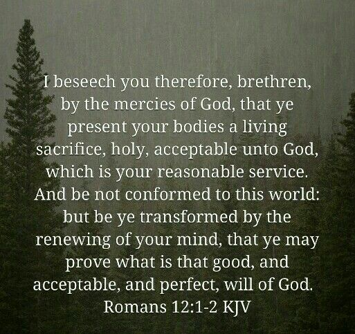 Image Result For Romans 12 2 Kjv Biblical Quotes Kjv Knowing God
