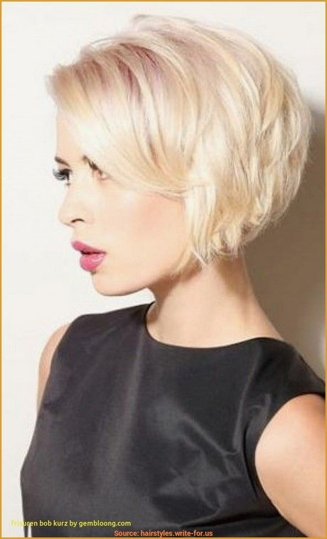 Frisuren Bob Kurz Stufig Bob Frisuren Kurz Stufig Bob Hairstyles Hair Styles Bob Hairstyles For Fine Hair