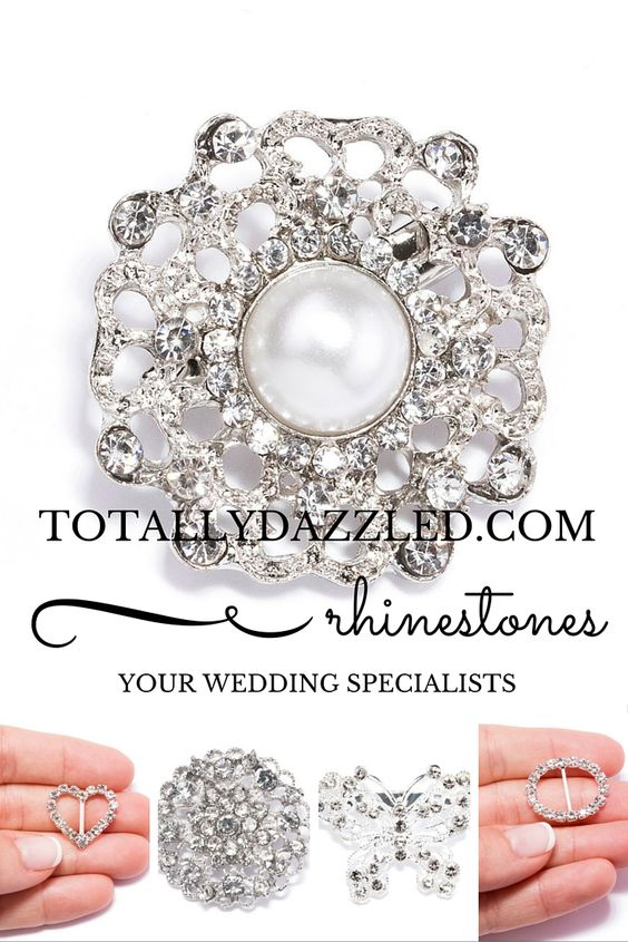 Add some bling to your special event with totallydazzled.com! Visit us online today to view our entire catalogue of items including napkin rings, buckles, buttons and more! We look forward to dazzling you!